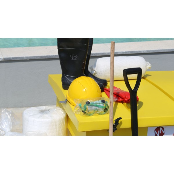 Oil Spill Response Kit  (OCS) for 12 Barrels - Υellow