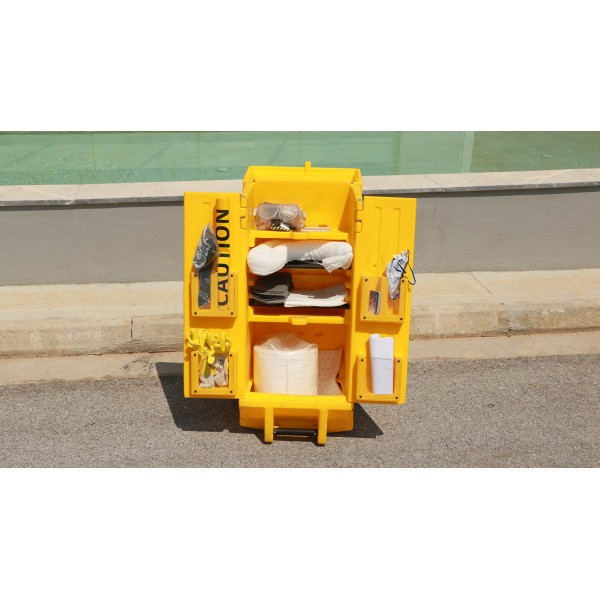Quick Response Spill Kit Cart 80L